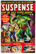 Golden Age (1938-1955):Horror, Suspense #13 (Atlas, 1952) Condition: FN/VF....