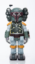 Collectible:Contemporary, KAWS (American, b. 1974). Boba Fett, 2013. Painted cast vinyl. 9-3/4 x 4-5/8 x 3-3/4 inches (24.8 x 11.7 x 9.5 cm). Stam...