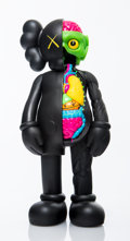 Collectible:Contemporary, KAWS (American, b. 1974). Dissected Companion (Black), 2006. Painted cast vinyl. 14-3/4 x 6-1/4 x 3-1/4 inches (37.5 x 1...