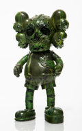 Collectible:Contemporary, KAWS X Pushead. Companion (Green), 2005. Painted cast vinyl. 10-3/4 x 5-1/2 x 3 inches (27.3 x 14 x 7.6 cm). Stamped on ...