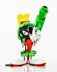 Matt Gondek X ComplexCon Aggression Marvin the Martian, 2018 Painted cast resin 10 inches (25.4 c
