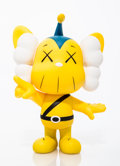 Collectible:Contemporary, KAWS (American, b. 1974). JPP (Yellow), 2008. Painted cast vinyl. 7-3/4 x 5 x 3 inches (19.7 x 12.7 x 7.6 cm). Stamped o...