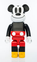 Collectible:Contemporary, BE@RBRICK X Disney. Mikey Mouse 1000%, 2009. Painted cast resin. 28 x 13-1/2 x 9 inches (71.1 x 34.3 x 22.9 cm). Stamped...