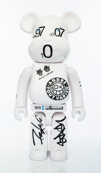 BE@RBRICK X Colette Colette 10th Anniversary, 2007 Painted cast vinyl 28-1/2 x 13-1/2 x 9 inches