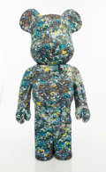 Collectible:Contemporary, BE@RBRICK X Jackson Pollock Studio. Jackson Pollock 1000%, 2015. Cast resin with fabric. 28 x 13-1/2 x 9 inches (71.1 x ...