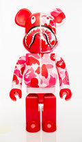 Collectible:Contemporary, BE@RBRICK X BAPE. Shark Hoddie 1000% (Red), 2015. Painted cast resin. 28 x 13-1/2 x 9 inches (71.1 x 34.3 x 22.9 cm). No...