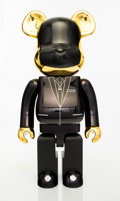 Collectible:Contemporary, BE@RBRICK X Daft Punk. Daft Punk (Gold) 1000%, 2018. Painted cast resin. 28 x 13-1/2 x 9 inches (71.1 x 34.3 x 22.9 cm)...