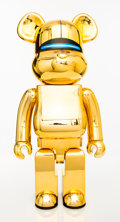 Collectible:Contemporary, BE@RBRICK X XLARGE X Hajime Soroyama. Robot (Gold), 2018. Painted cast resin. 28 x 13-1/2 x 9 inches (71.1 x 34.3 x 22.9...