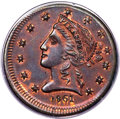 Territorial Gold , 1861 $5 Clark, Gruber $5 Copper Die Trial PR63 Red and Brown PCGS. K-10b, R.7....