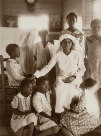 Eudora Welty (American, 1909-2001) Sunday School, Holiness Church, Jackson, Mississippi, 1939 Sepia