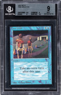 Memorabilia:Trading Cards, Magic: The Gathering Beta Edition Time Walk BGS 9 (Wizards of the Coast, 1993)....