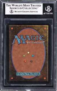 Magic: The Gathering Beta Edition Volcanic Island BGS 8 (Wizards of