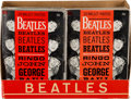 Music Memorabilia:Memorabilia, Beatles Dell Wallet Photos Counter Display Complete with Six Pull-Out Photo Booklets (US, 1964)....