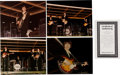 Music Memorabilia:Photos, Beatles Four Rare Color Prints St. Louis Signed and Numbered byPhotographer (1966)....