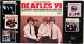 Music Memorabilia:Posters, Beatles Record Store Promotional Display for Beatles VI andTheir First Five Albums (US, 1965)....