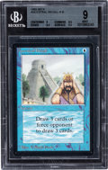 Memorabilia:Trading Cards, Magic: The Gathering Beta Edition Ancestral Recall BGS 9 (Wizards of the Coast, 1993)....