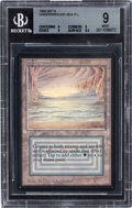 Memorabilia:Trading Cards, Magic: The Gathering Beta Edition Underground Sea BGS 9 (Wizards of the Coast, 1993)....