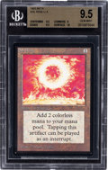 Memorabilia:Trading Cards, Magic: The Gathering Beta Edition Sol Ring BGS 9.5 (Wizards of the Coast, 1993)....