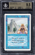 Memorabilia:Trading Cards, Magic: The Gathering Unlimited Edition Ancestral Recall BGS 9.5 (Wizards of the Coast, 1993)....