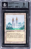 Memorabilia:Trading Cards, Magic: The Gathering Legends Tabernacle at Pendrell Vale BGS9 (Wizards of the Coast, 1994)....