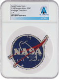 """Explorers:Space Exploration, NASA """"Meatball"""" Vector Logo: Neil Armstrong's X-15 Program-Worn Patch from Dryden Research Flight Center Directly From The..."""