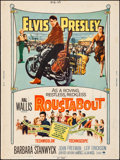 "Movie Posters:Elvis Presley, Roustabout (Paramount, 1964). Rolled, Fine/Very Fine. Poster (30"" X40""). Elvis Presley.. ..."