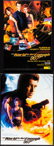 """Movie Posters:James Bond, The World is Not Enough (MGM, 1999). Very Fine+. European Program(Multiple Pages, 8.25"""" X 11.5"""") & Presskit (9"""" X 12..."""