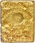 S.S. Central America Gold Ingots, Harris, Marchand & Co. Gold Ingot. 17.48 Ounces....