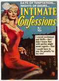 Golden Age (1938-1955):Romance, Intimate Confessions #1 (Realistic Comics, 1951) Condition:Apparent FN+....
