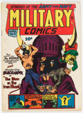 Golden Age (1938-1955):War, Military Comics #9 (Quality, 1942) Condition: VG....