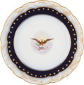 Political:Presidential Relics, Benjamin Harrison: Official White House China....