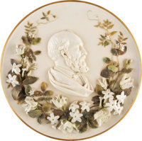 James A. Garfield: Awesome Porcelain Charger