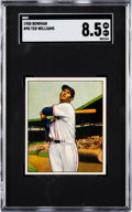 Baseball Cards:Singles (1950-1959), 1950 Bowman Ted Williams #98 SGC NM/MT+ 8.5....