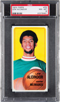 Basketball Cards:Singles (1970-1979), 1970 Topps Lew Alcindor #75 PSA NM-MT 8....