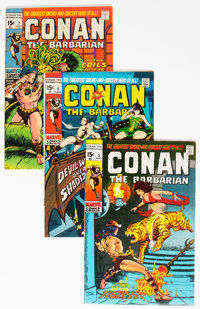 Conan the Barbarian Group of 28 (Marvel, 1971-91) Condition: Average VF.... (Total: 28 Comic Books)