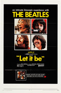 Movie/TV Memorabilia:Posters, Beatles Let It Be Full Sheet Movie Poster (United Artists, 1970)....