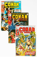 Bronze Age (1970-1979):Adventure, Conan the Barbarian Group of 30 (Marvel, 1970-79) Condition: Average FN.... (Total: 30 Comic Books)