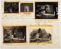 Animation Art:Production Drawing, Ben and Me Storyboard Drawings by Bill Peet (Walt Disney,1953)....