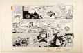 Original Comic Art:Comic Strip Art, Dan Barry and Bob Fujitani Flash Gordon Sunday Comic Strip Original Art dated 1-5-69 (King Features Syndicate, 196...