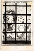 Original Comic Art:Illustrations, George Herriman archy does his part Interior Illustration Original Art (Doubleday Publishing., 1935). ...