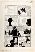 Original Comic Art:Panel Pages, Kyle Baker The Shadow #13 Story Page 8 Original Art (DC, 1988)....