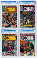 Bronze Age (1970-1979):Adventure, Conan the Barbarian #101-105 and 113 Group of 6 (Marvel, 1979-80) CGC NM/MT 9.8.... (Total: 6 )