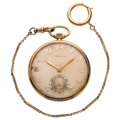 Estate Jewelry:Watches, C.H. Meylan for Tiffany & Co. Gold Pocket Watch. ...