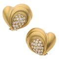 Estate Jewelry:Earrings, Diamond, Gold Earrings, Vahe Naltchayan . ...