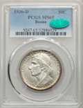 Commemorative Silver, 1936-D 50C Boone MS65 PCGS. CAC. PCGS Population: (578/347). NGC Census: (397/229). CDN: $170 Whsle. Bid for problem-free N...