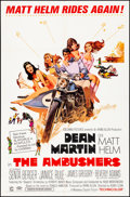 """Movie Posters:Action, The Ambushers & Other Lot (Columbia, 1967). Folded, Very Fine-.One Sheets (2) (27"""" X 41""""). Robert McGinnis Artwork. Action....(Total: 2 Items)"""