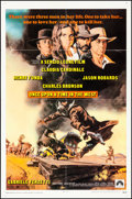 """Movie Posters:Western, Once Upon a Time in the West (Paramount, 1969). Folded, Very Fine. One Sheet (27"""" X 41""""). Frank McCarthy Artwork. Western.. ..."""