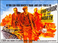 """Movie Posters:Action, Emperor of the North & Other Lot (20th Century Fox, 1973).Folded, Very Fine+. British Quads (2) (30"""" X 40""""). Action.. ...(Total: 2 Items)"""