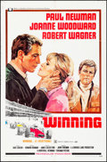 """Movie Posters:Sports, Winning & Other Lot (Universal, 1969). Folded, Very Fine-. One Sheets (2) (27"""" X 41""""). Howard Terpning Artwork. Sports.. ... (Total: 2 Items)"""