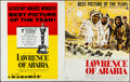 "Movie Posters:Academy Award Winners, Lawrence of Arabia (Columbia, R-1963). Folded, Very Fine-. UncutPressbook (20 Pages, 14"" X 17.5""). Howard Terpning Artwork...."
